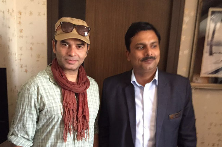Singer Mohit Chauhan at Hotel The Panache