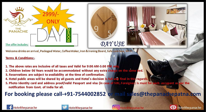 Hotel offers in patna